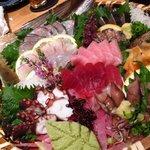 寿司 割烹 さつき - 刺身盛り合わせ