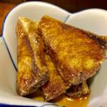 立呑み 魚平 - ブリ唐ポン酢 200円(ブリが4切れ)