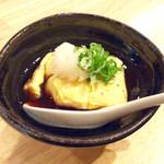 國 KOKU - 「KOKU風玉子焼」(350円)。揚げ出し豆腐の玉子焼バージョンって感じ。