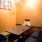 博多 心風 - テーブル席(5名様)