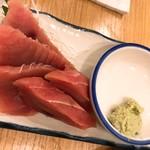 晩杯屋 - マグロ刺し(200)