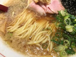 生姜醤油専門 我武者羅 代々木店 - 麺と背脂