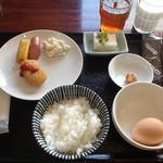 駅裏食堂 - 私の朝食
