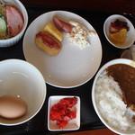 駅裏食堂 - 夫の朝食