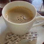 駅裏食堂 - 食後はコーヒーでまったり