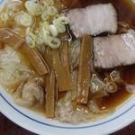 柳華 - 料理写真:ワンタンメン 580円