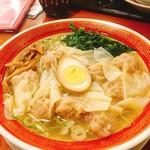 72675950 - 広州雲呑麺/塩(740円)