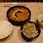 小倉鉄なべ餃子 - 鉄なべランチDX1000円