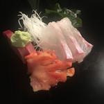 二葉鮨 - インドの中トロ、ハタ、赤貝