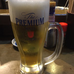 魚椿 - 生ビール486円税込