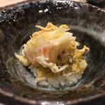 鮨西光 - 苫小牧の毛蟹