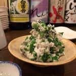 のひのひ - 菜の花と里芋のポテトサラダ