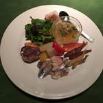 ワインレストラン ドミナス - 旬の魚介盛り合わせ