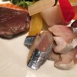 ワインレストラン ドミナス - 青魚のマリネ