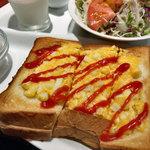 Cafe Sanbankan - タマゴトーストモーニング