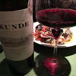 ワインレストラン ドミナス - KUNDE Zinfandel 2014