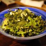 海風よ - 海ブドウと韓国のりのサラダ
