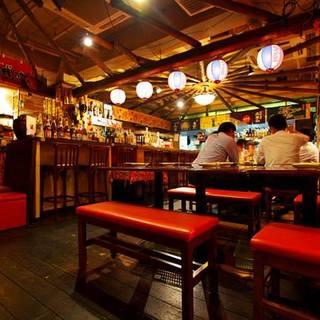 沖縄にいるかのような空間が特別な時間を演出します♪