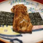 銀座 しのはら - 明石の穴子の手巻き寿司