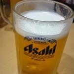 寿し割烹 ときわ - 生ビール680円で乾杯!