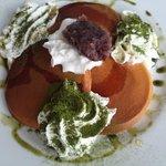 ゴスペル カフェ - Ogura-Green Tea Pancakes