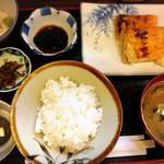 竹久木 - 鮭ハラス定食@790+とろろ@100