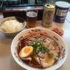 尾道ラーメン 十六番 - 料理写真:ラーメン、ライス、ゼロイチ