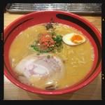 えびそば 一幻 - えびしお そのまま細麺 780円