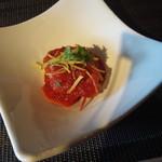 四季茶房八夢 - 豚肉のトマト煮