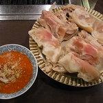 焼肉 松の屋 - 豚足