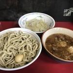 蓮爾 - 料理写真:【2017.8.19】蓮えび小つけ麺豚入り¥1150
