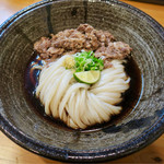 空麦 - 料理写真:「肉ぶっかけうどん」(950円)