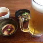 72695063 - せんべろ祭セット(牛すじ煮込み+マグロ山かけ)