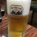 大衆食堂シックダール - 生ビール