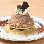 カフェ&パンケーキ gram - マロンティーパンケーキ