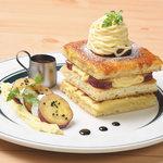 カフェ&パンケーキ gram - まるごとさつまいもパンケーキ