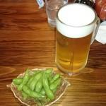 にっぽんの洋食 江戸一 - 2017/06/06 中生ビール