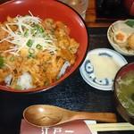 にっぽんの洋食 江戸一 - 2017/06/06 豚キムチ丼