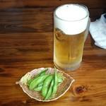 にっぽんの洋食 江戸一 - 2017/06/14 中生ビール