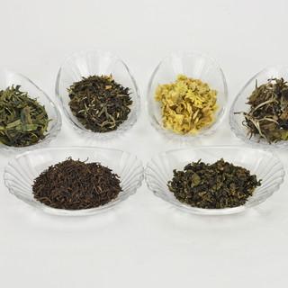 10種類のお茶からお選び頂けます!
