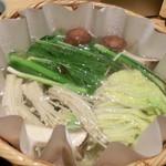 京都 瓢喜 - しゃぶしゃぶ鍋