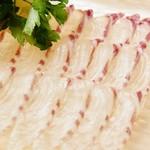 『蛤と旬魚の白ワインすきしゃぶ』