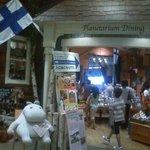 ムーミンオーロラカフェ - 雑貨屋兼ねたエントランス