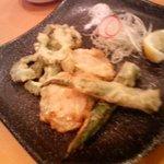 中国料理 敦煌 - へちまはもひとつだったけどゴーヤはおいしかったっす