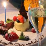 Xen (Roppongi J 内) - お誕生日の方には写真撮影と名前入りのケーキをプレゼント☆