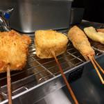 Kushiageshimonya - Nakano/Kushi-age (Fried Skewer) [Tabelog]
