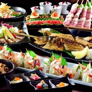 コース料理2500円~!+1500円で120分飲み放題付き!