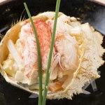 【季節の三ぶん会席 椿(つばき)4,700円】お料理6品程度+旬の釜飯