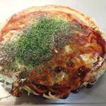 お好み焼き 鉄板焼き 一心 - 「肉玉そば」(700円)
