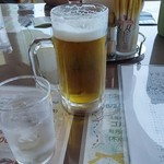 土佐カントリークラブ オーシャン - 生ビールは600円でした。